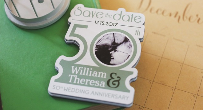 Anniversary Save the Date Magnet