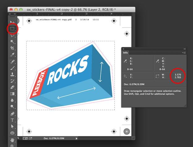 Dimensioni PDF in Photoshop