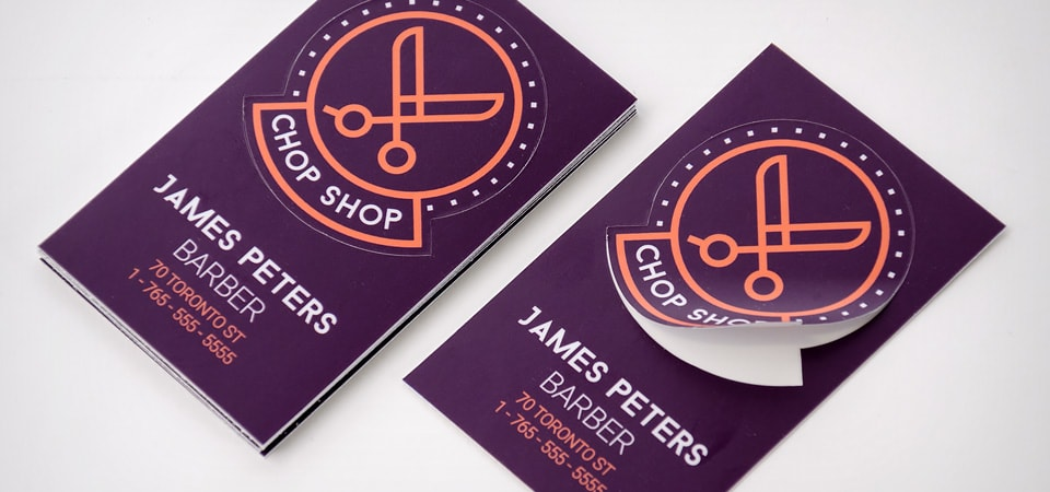 Custom Business Cards And Stickers