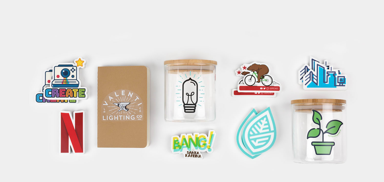 Clear stickers by Sticker Mule