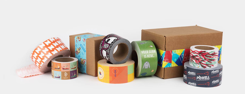 Packaging tape by Sticker Mule