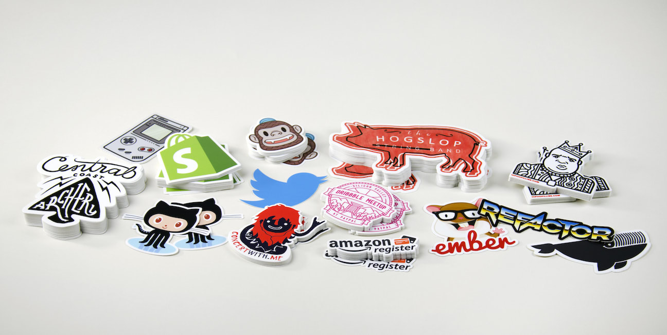 Vinyl stickers by sticker mule