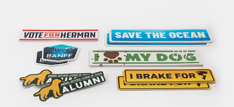 Bumper Stickers by Sticker Mule
