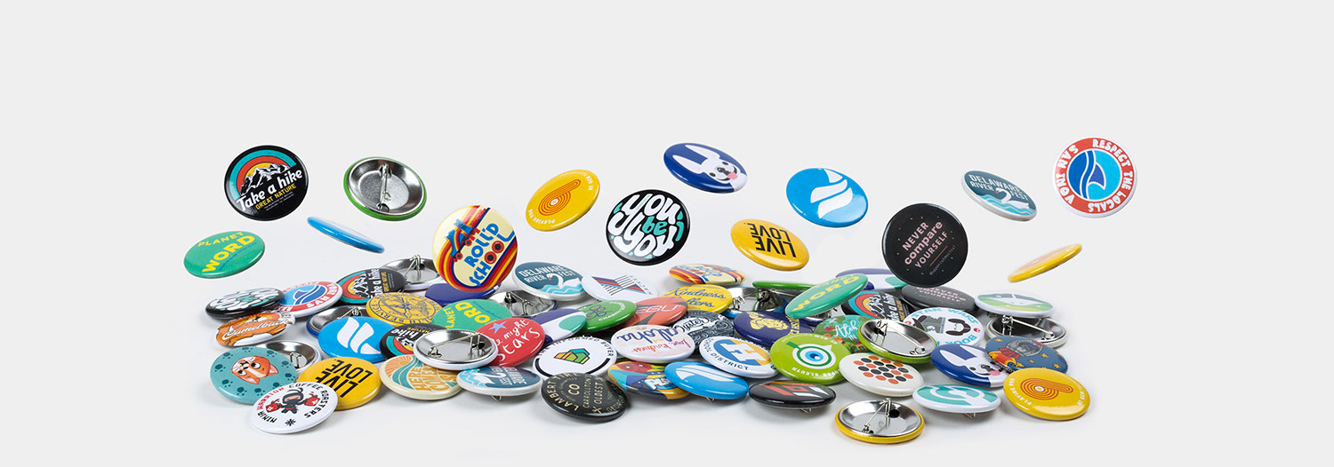 "1.5"" Round buttons by Sticker Mule"