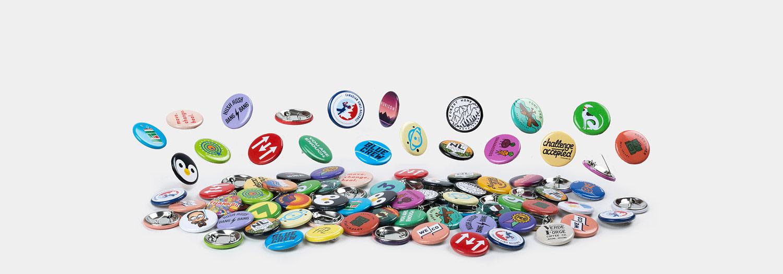 Chapas redondas de 32mm por Sticker Mule