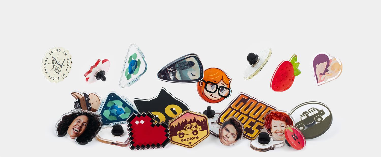 Acryl Pins