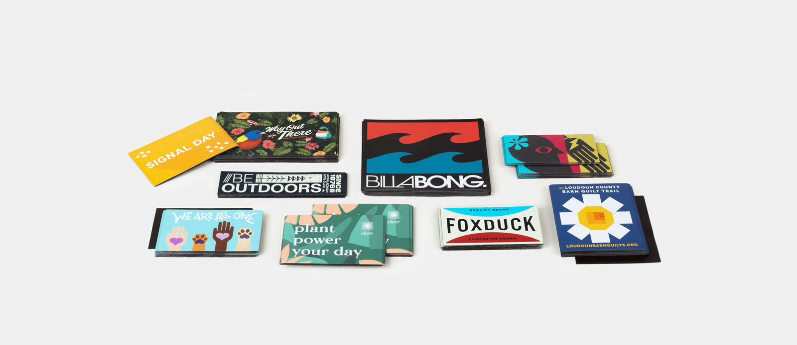 Rectangle magnets by Sticker Mule