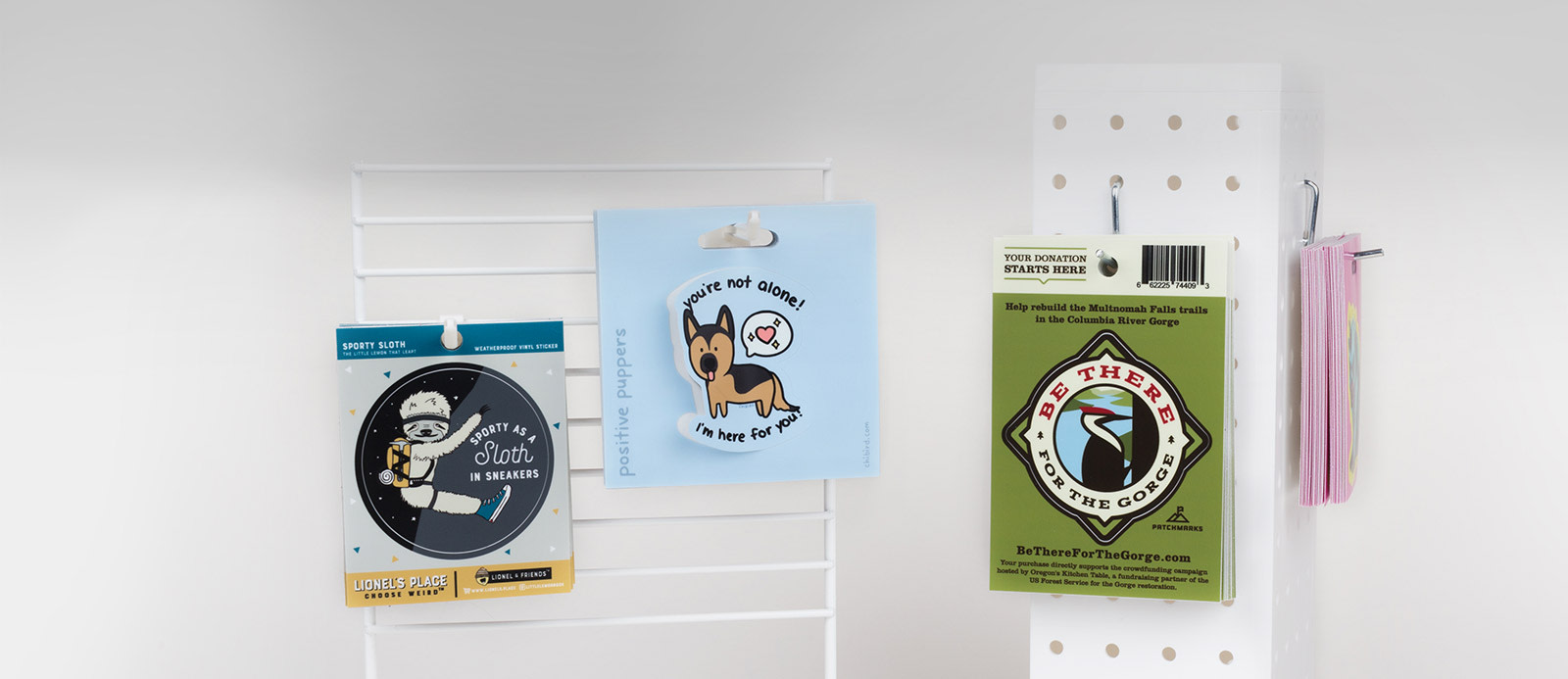 Hang tag stickers by Sticker Mule
