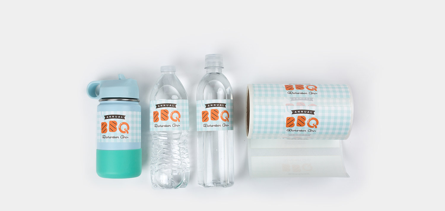 Water Bottle Labels Sticker Mule
