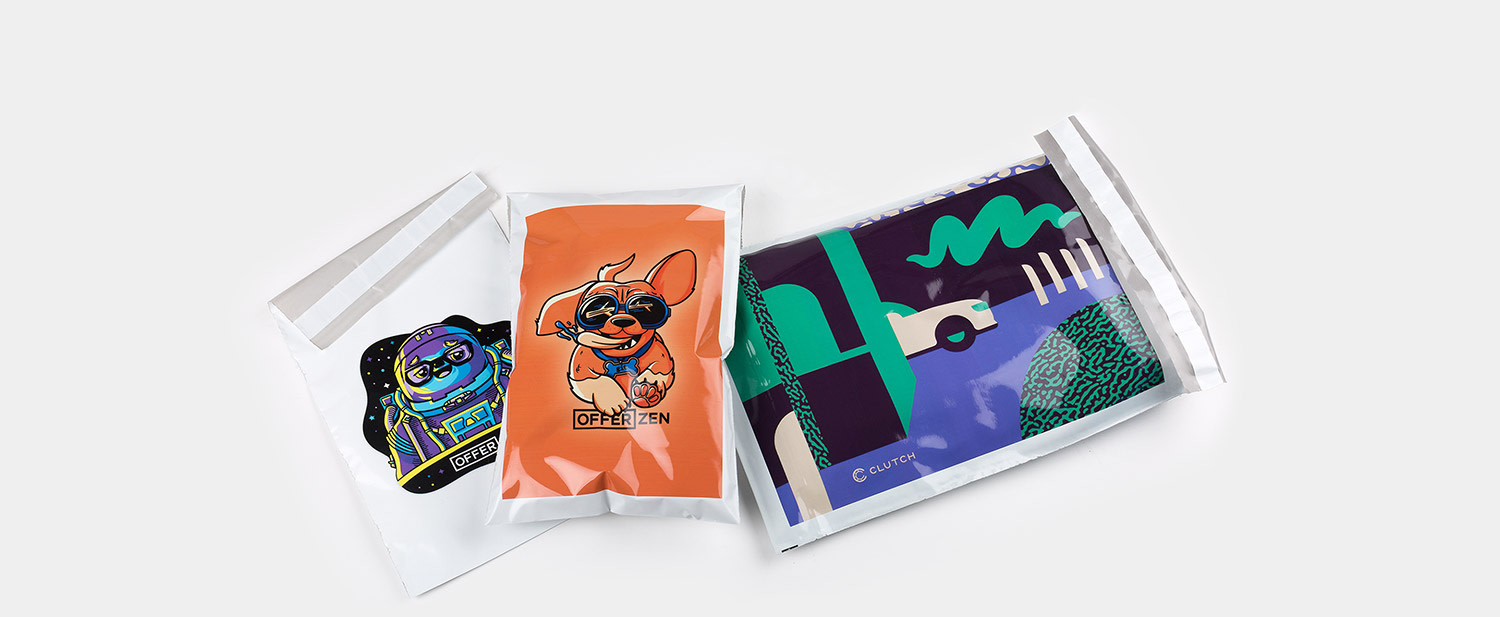 Shipping bags by Sticker Mule