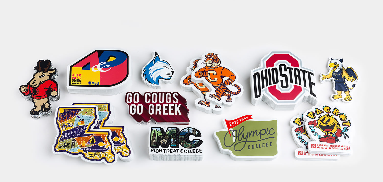 College stickers