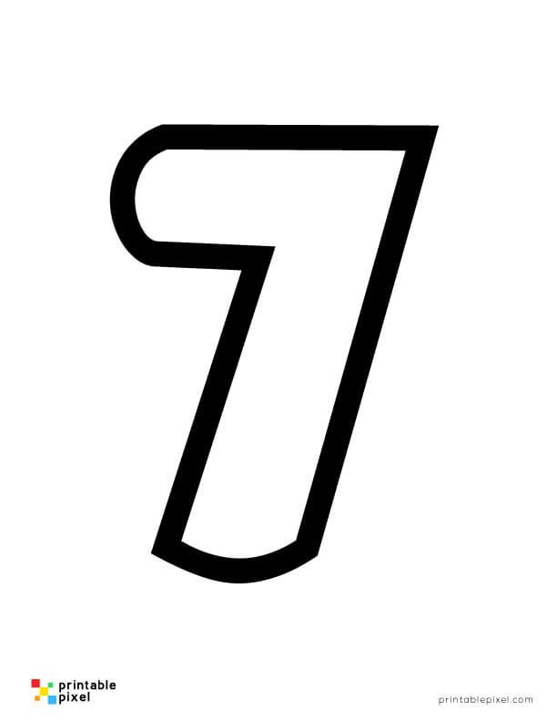 Bubble  Number Seven