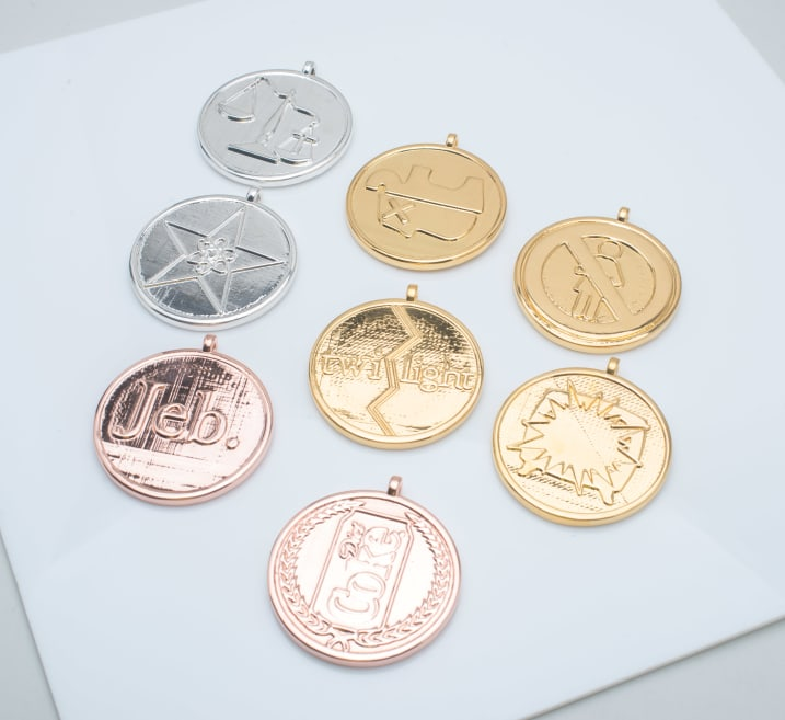 Metal plated coins