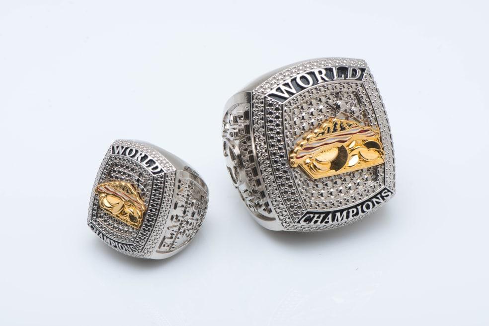 Metal plated rings