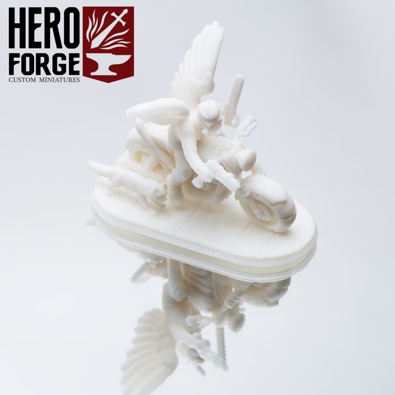 Minature model Heroes forge