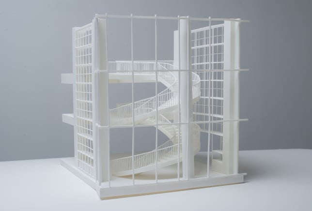 3D Printed architectural model front