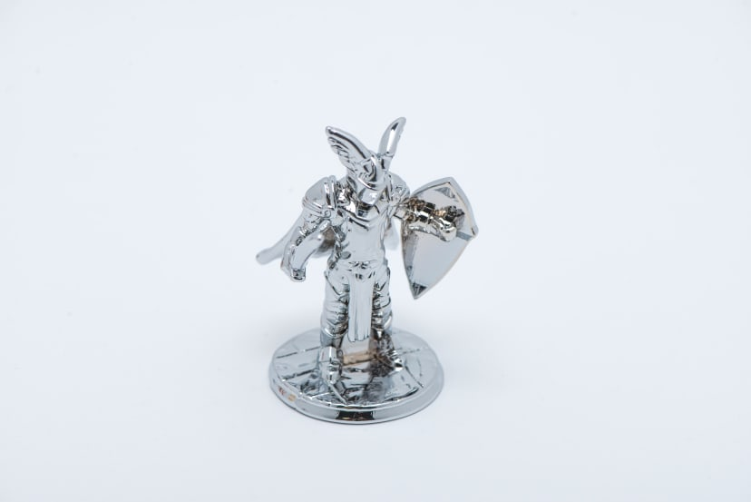 Minature figurine silver 2