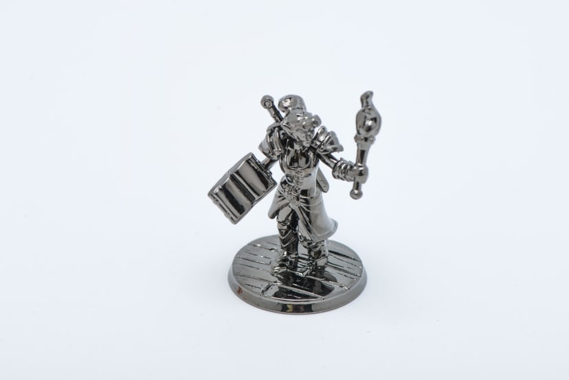Minature figurine silver