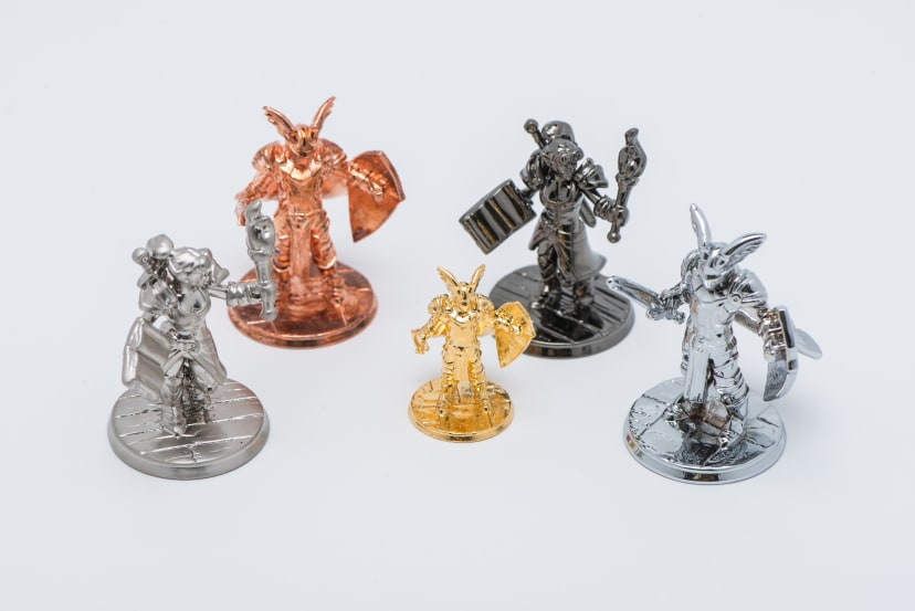 multiple minature figurines