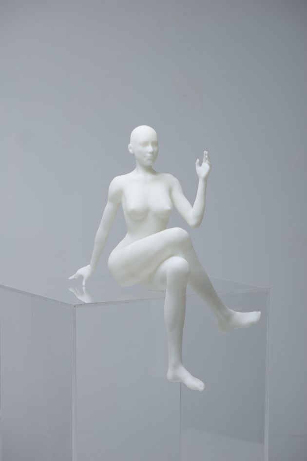 3d printing of a nude sketch