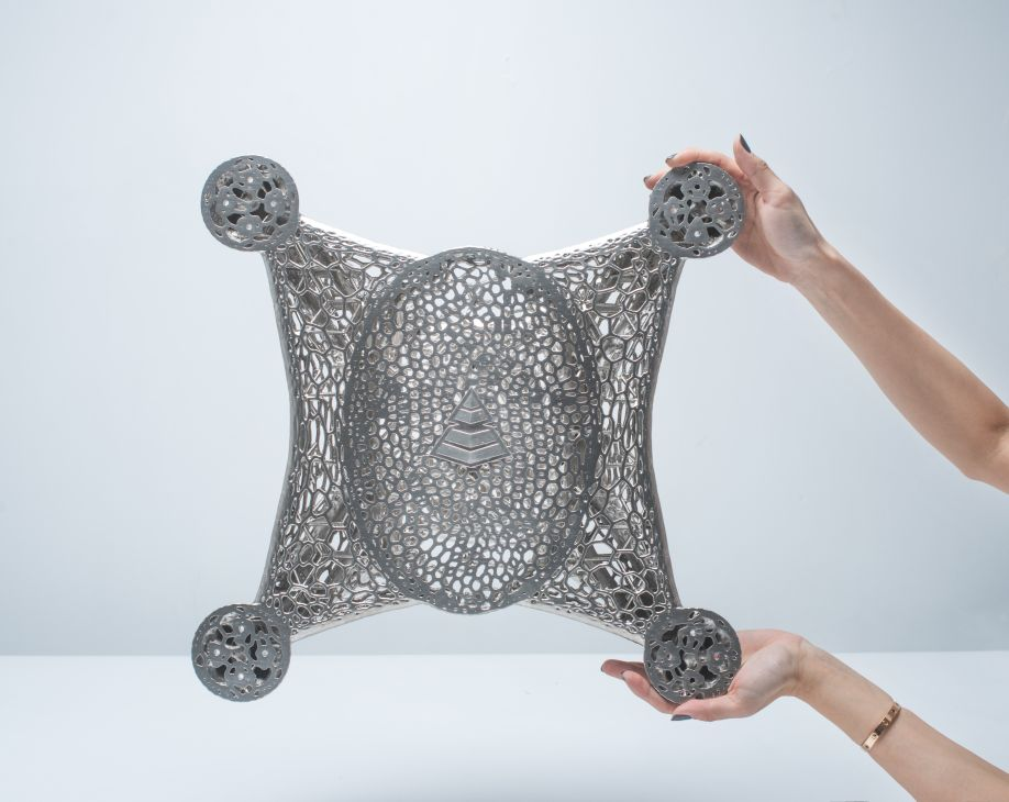 metal plated drone frame