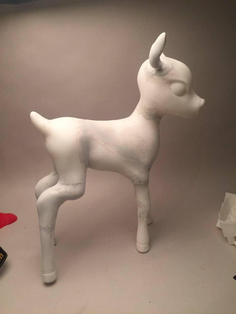 3d modeling deer