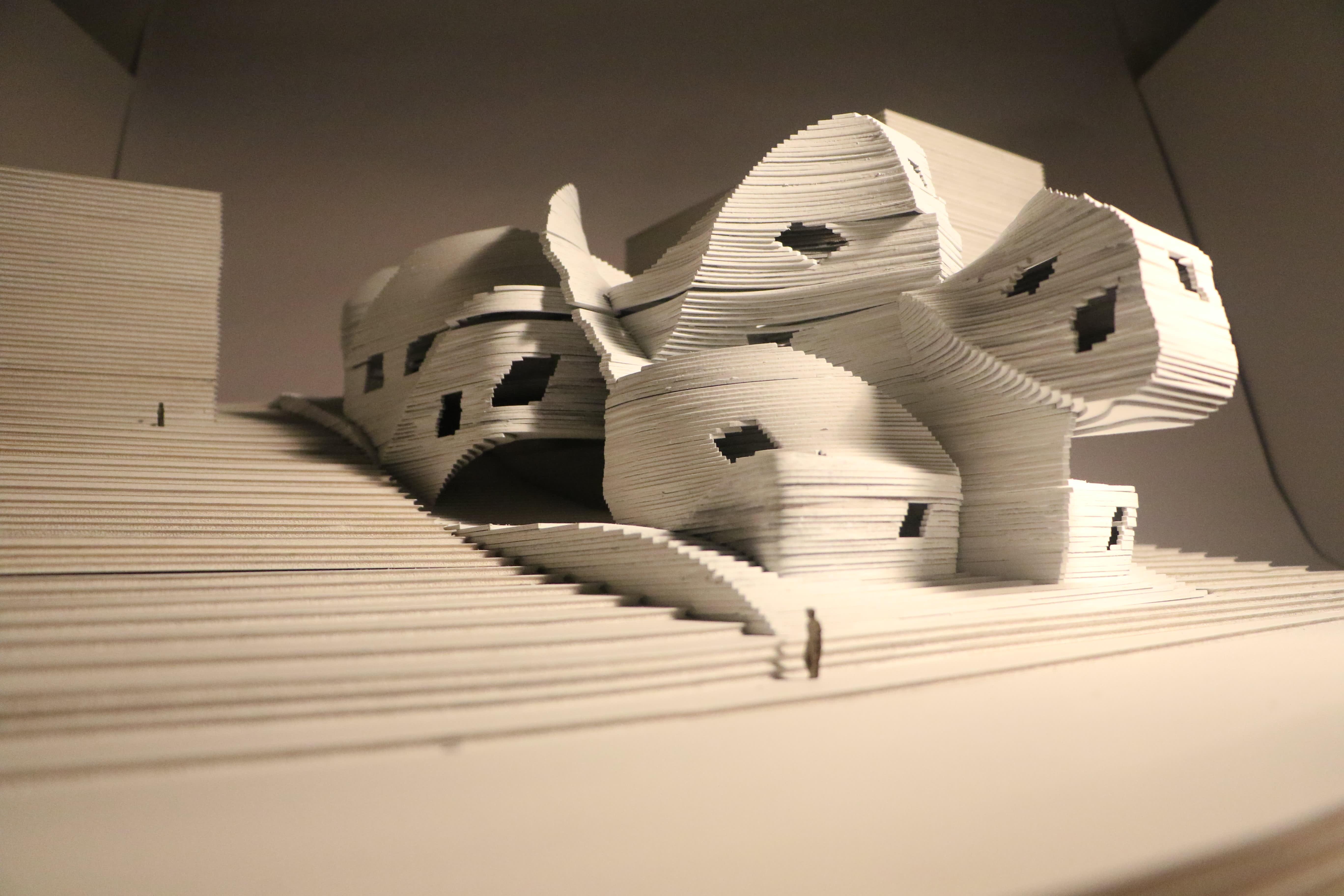 Kindergarten architectural model