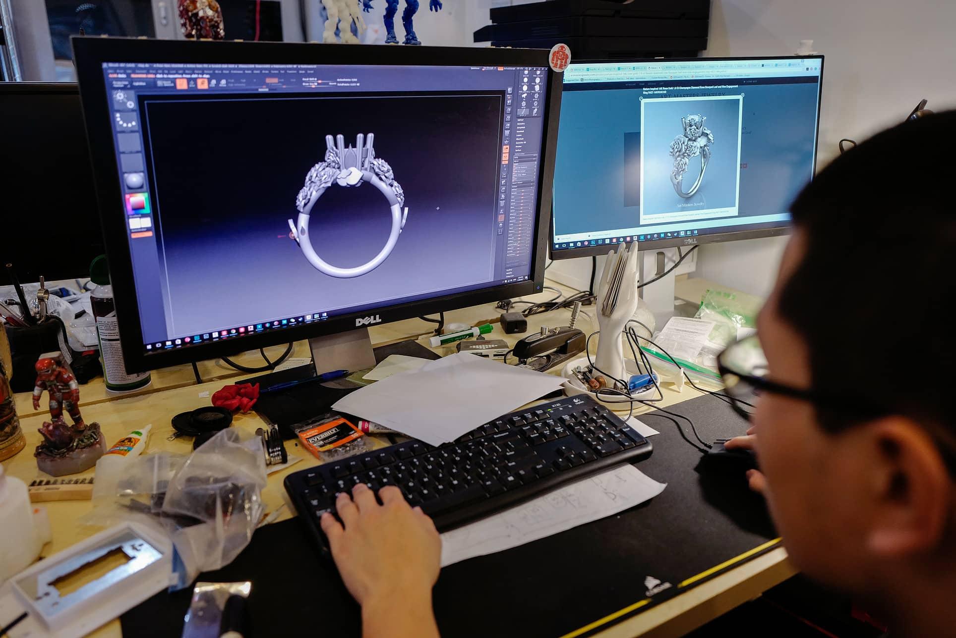 3d modeling designer