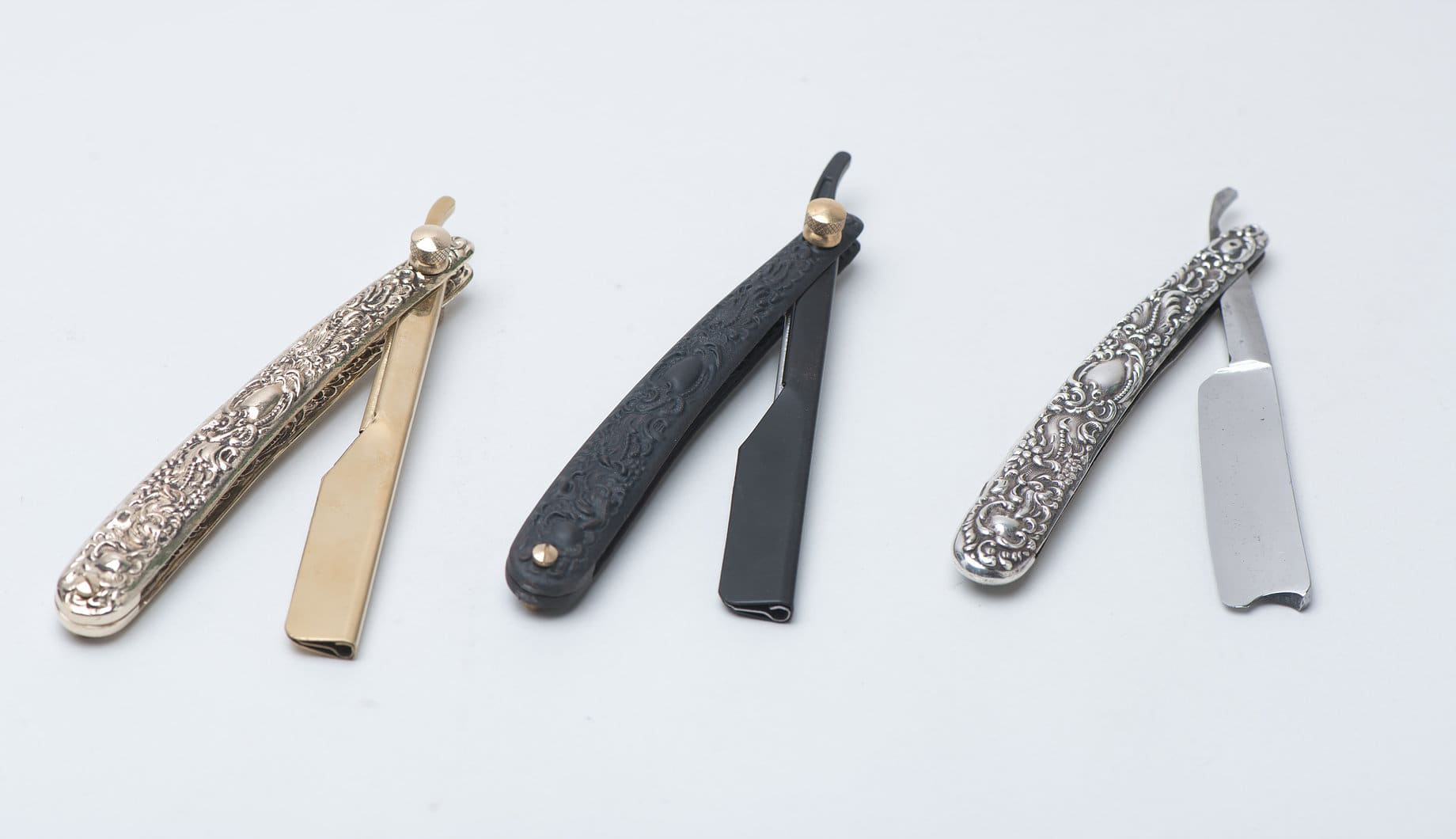 Metal plated butterfly knife