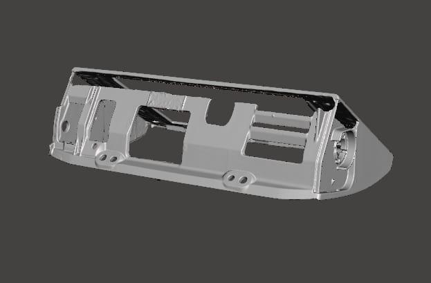 Car Media Screen CAD 1