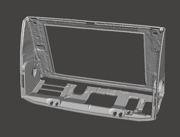 Car Media Screen CAD 2