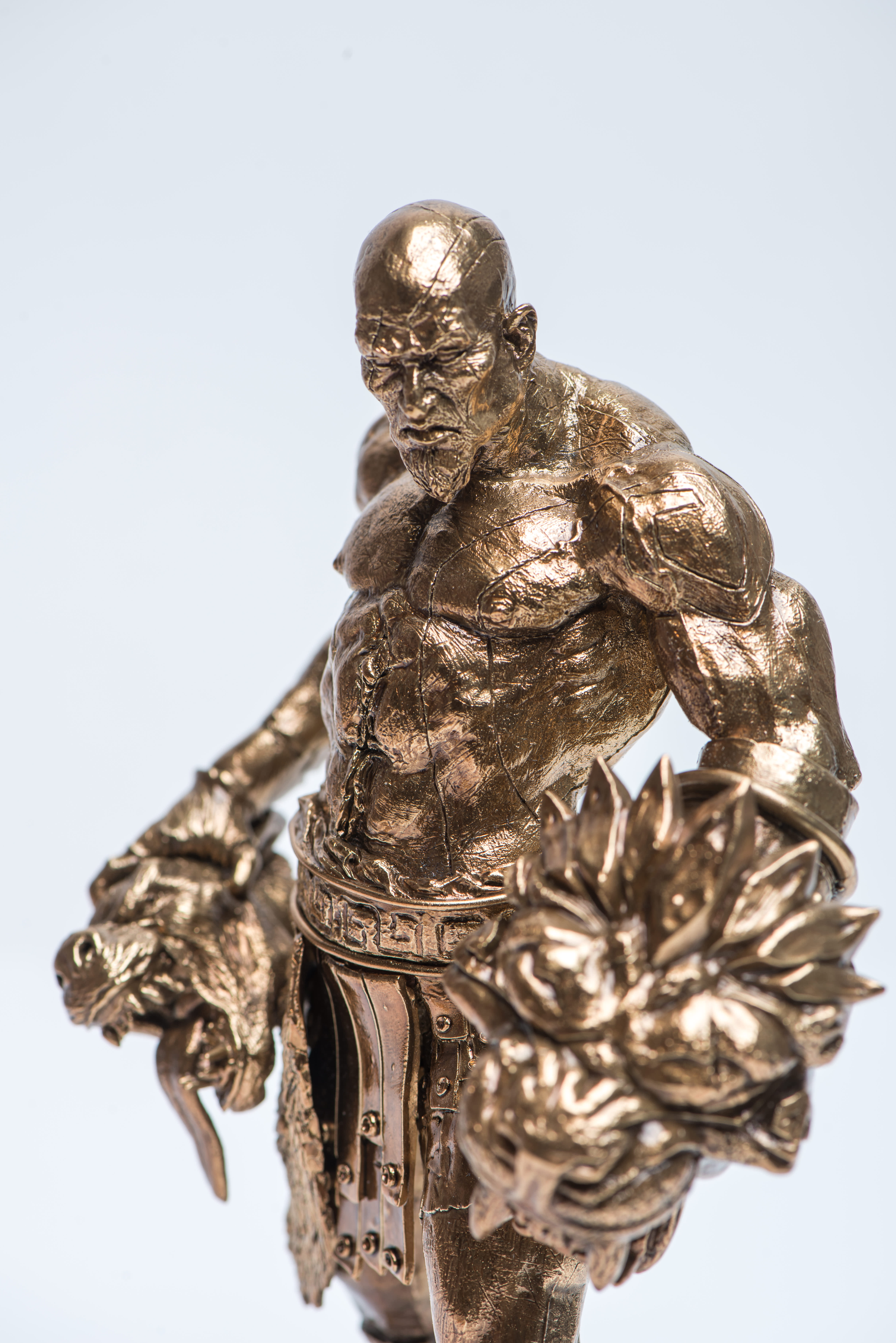 Metal Casted Character Front View