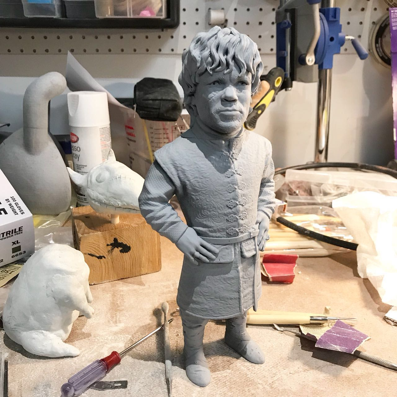 3D Printed Peter Dinklage Full Body
