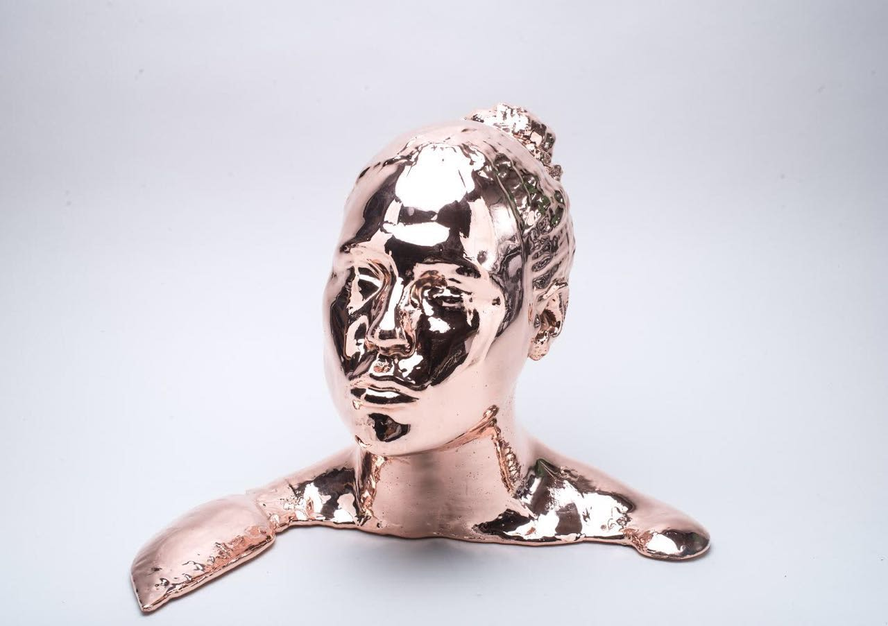 Metal Plated Face
