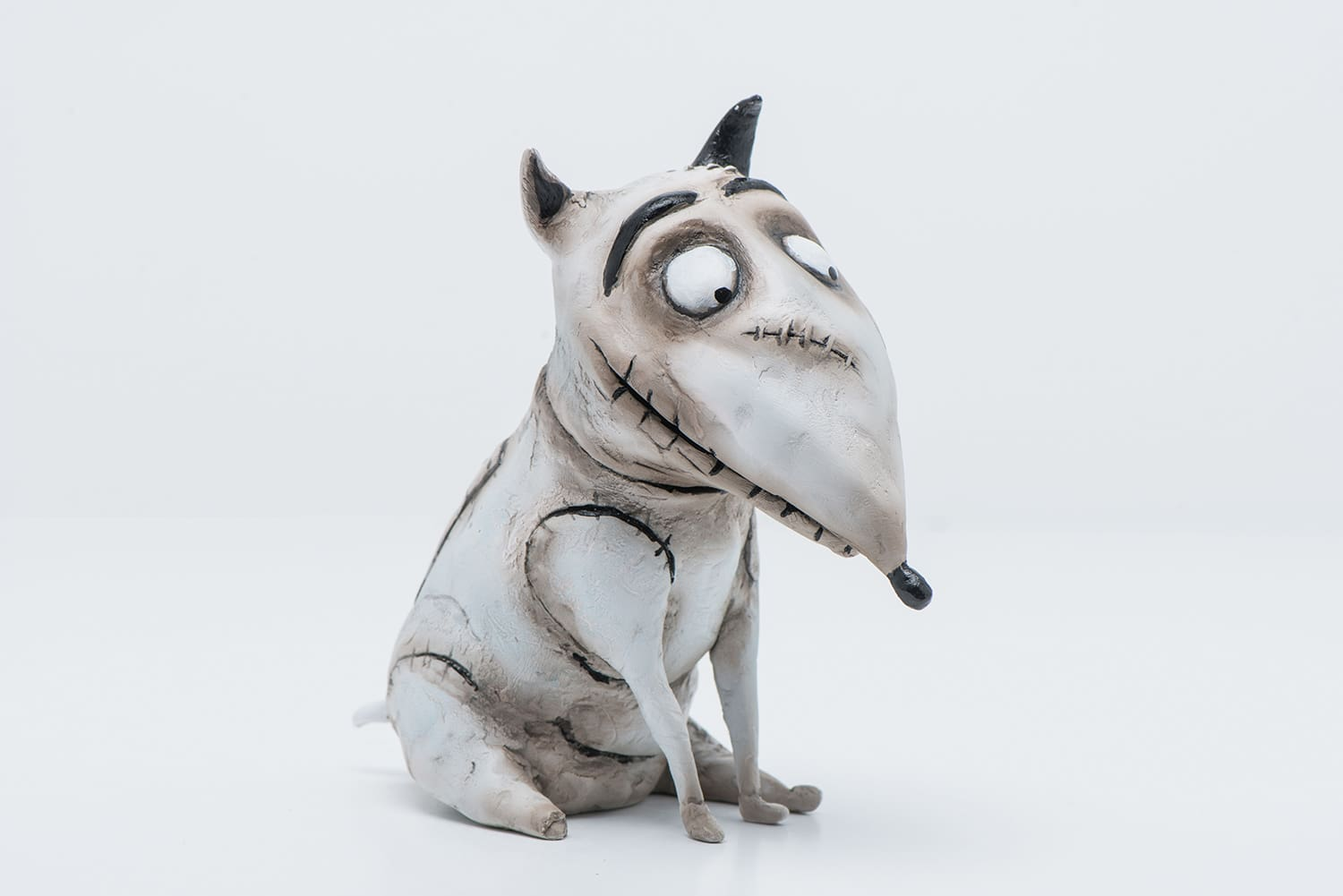 3D Printed Anubis the barkless dog