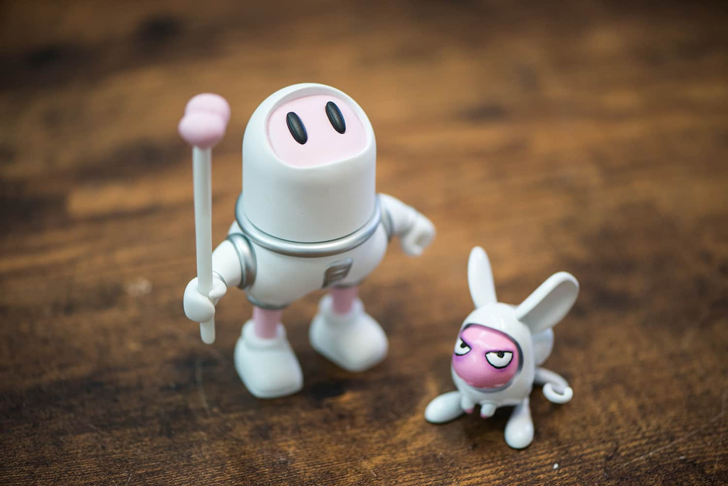3D Printed asstronaut and pet