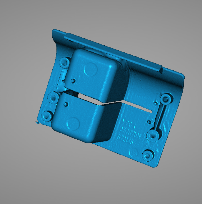 3D Scanned model of an ATM Bevel 2
