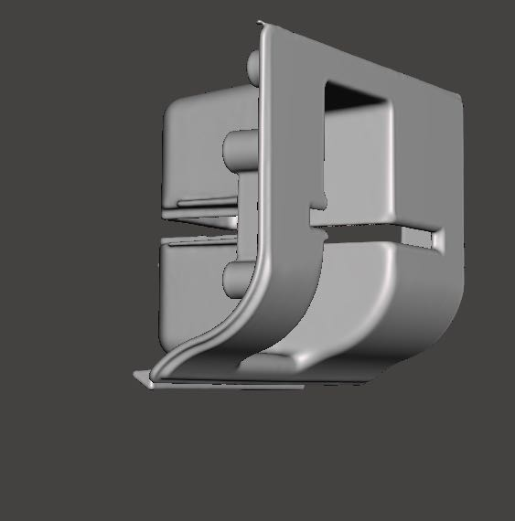 3D Scanned model of an ATM Bevel on ZBrush 2