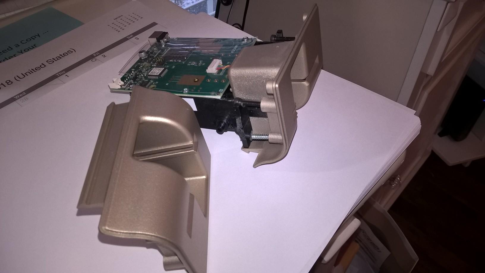 ATM Case Bevel