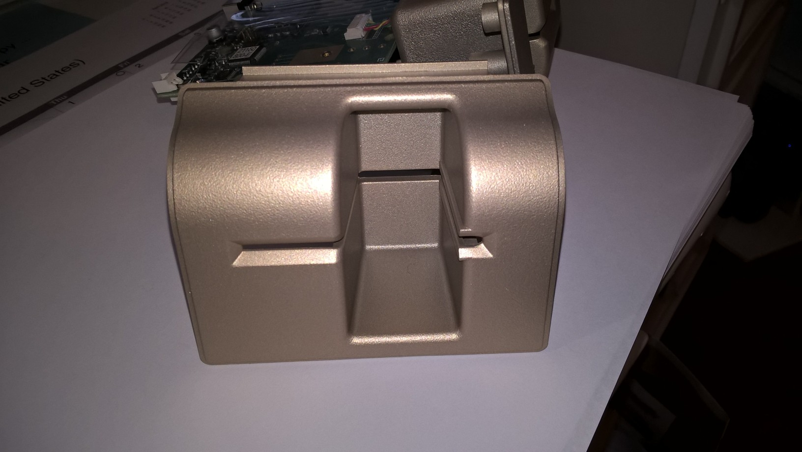 ATM Case Bevel different angle