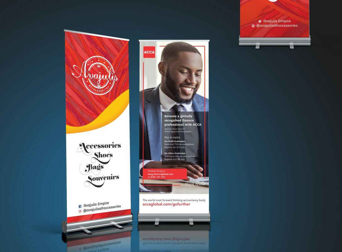 Roll-up Banner (Small Base)