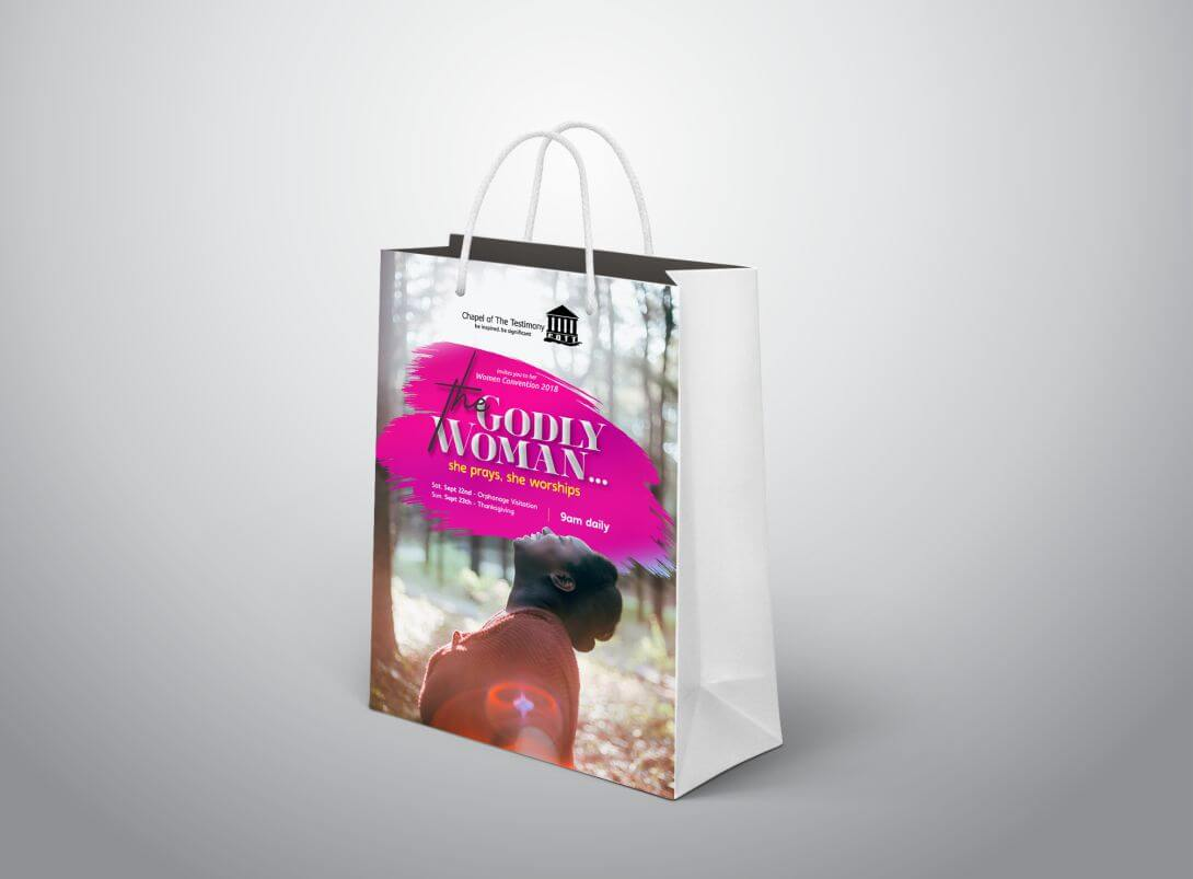 Small Paper Bags (A5 Sized)