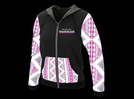 Patterned Print Hoodies & Sweatshirts