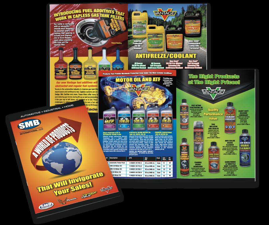 SMB Printed Product Catalog