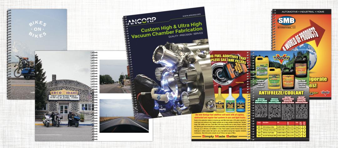 Spiral Bound Photobook, Manual and Catalog