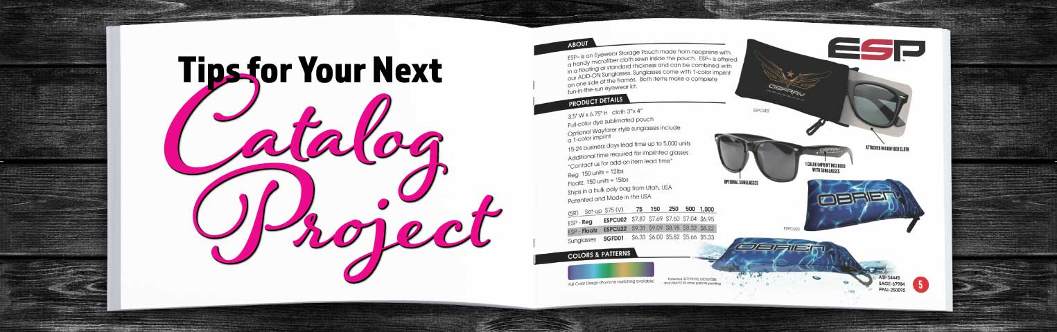 Tips for Your Next Catalog Printing Project