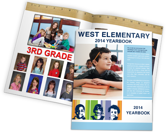"""""""West Elementary"""" online yearbook from 2014"""