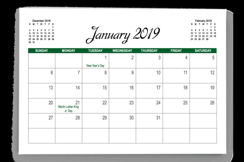 December Calendars 2020 Indesign Calendar Templates | PrintingCenterUSA