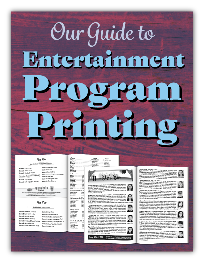 Our Guide to Event Program Printing