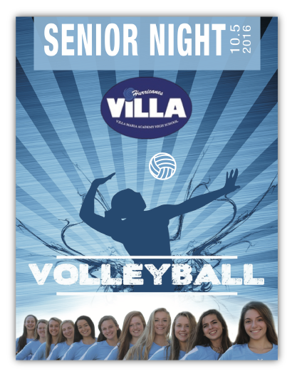 Volleyball Program Printing
